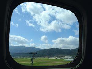 車窓。.JPG